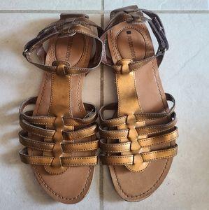🕸 No Boundaries Ophelia Copper Gladiator Sandals